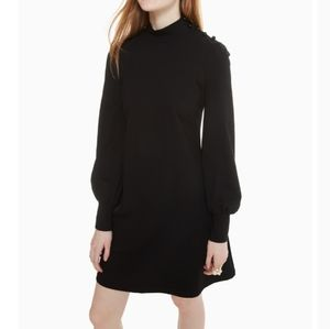 Kate Spade mock neck ponte knit dress